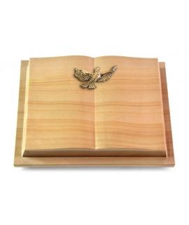 Livre Podest/Rainbow Taube (Bronze)
