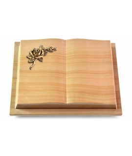 Livre Podest/Rainbow Rose 1 (Bronze)