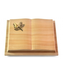 Livre Podest/Rainbow Rose 3 (Bronze)