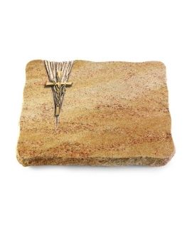 Juparana/Delta Kreuz/Ähren (Bronze)