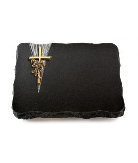 Indisch Black Delta Kreuz/Ähren (Bronze)