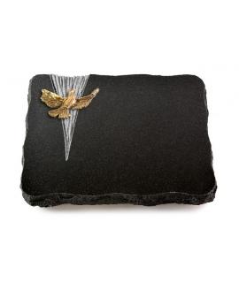 Indisch Black Delta Papillon (Bronze)