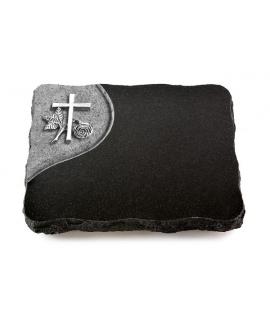 Indisch Black Folio Herzen (Alu)