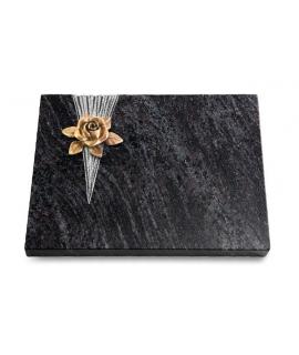 Grabtafel Kashmir Delta Rose 4 (Bronze)