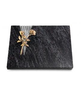 Grabtafel Kashmir Delta Rose 10 (Bronze)