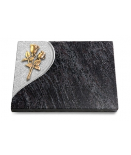 Grabtafel Kashmir Folio Rose 11 (Bronze)