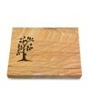 Grabtafel Omega Marmor Pure Baum 1