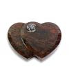 Amoureux Aruba Herzen (mit Alu-Ornament)