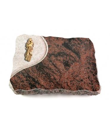 Aruba Folio Kreuz/Rose (Bronze)
