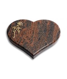 Coeur/Twilight-Red Rose 1 (Bronze)