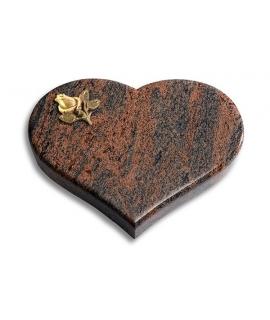 Coeur/Twilight-Red Rose 2 (Bronze)