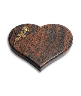 Coeur/Twilight-Red Rose 6 (Bronze)