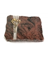 Aruba Strikt Kreuz/Rose (Bronze)