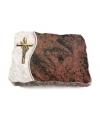 Aruba Wave Kreuz/Ähren (Bronze)