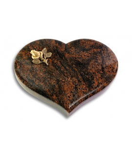 Coeur/Twilight-Red Rose 3 (Bronze)