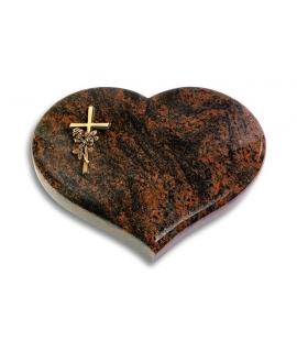 Coeur/Aruba Kreuz/Rose (Bronze)