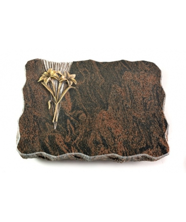 Barap Delta Kreuz/Rose (Bronze)