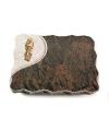 Barap Folio Taube (Bronze)