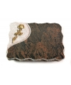 Barap Folio Rose 6 (Bronze)