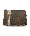 Barap Strikt Kreuz/Ähren (Bronze)