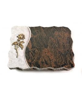 Barap Wave Kreuz/Rose (Bronze)