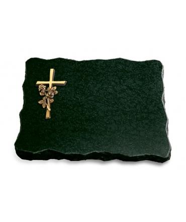 Diabas Pure Kreuz/Ähren (Bronze)