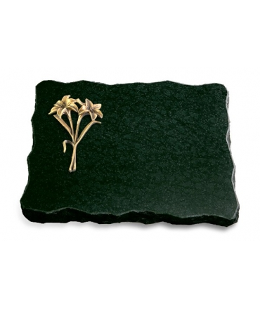 Diabas Pure Kreuz/Rose (Bronze)