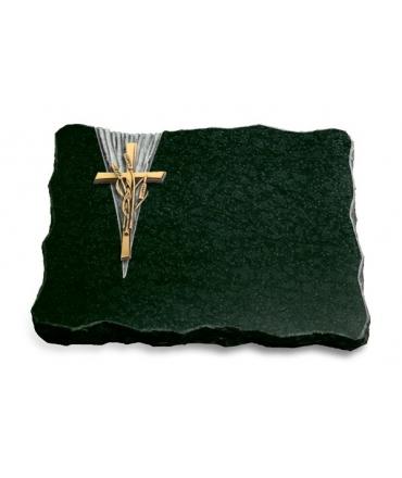 Diabas Delta Kreuz 1 (Bronze)