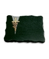 Diabas Delta Kreuz/Ähren (Bronze)