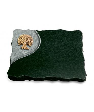 Diabas Folio Baum 2 (Bronze)