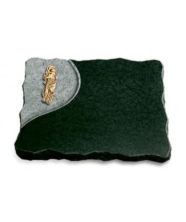 Diabas Folio Kreuz/Rose (Bronze)