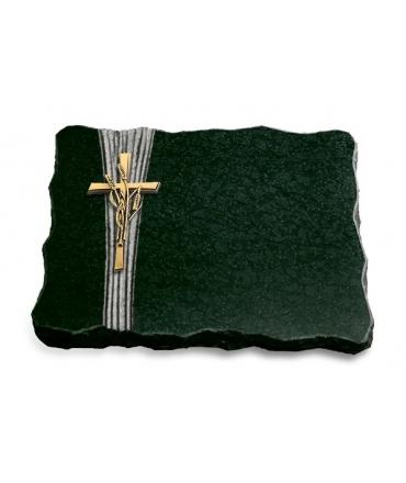 Diabas Strikt Kreuz 2 (Bronze)