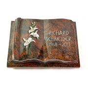 Grabbuch Antique / Aruba mit Color-Bronze-Ornament