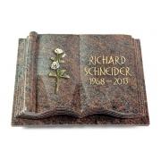 Grabbuch Antique / Paradiso mit Color-Bronze-Ornament