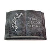Grabbuch Livre Pagina / Orion mit Aluminium-Ornament