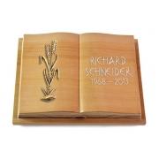 Grabbuch Livre Podest Folia / Woodland mit Bronze-Ornament