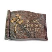 Grabbuch Biblos / Paradiso mit Bronze-Ornament