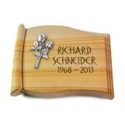 Grabbuch Biblos / Woodland mit Aluminium-Ornament