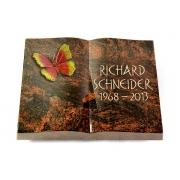 Grabbuch Livre / Aruba mit Color-Bronze-Ornament
