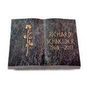 Grabbuch Livre / Orion mit Bronze-Ornament