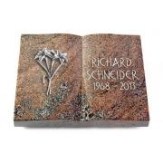 Grabbuch Livre / Paradiso mit Aluminium-Ornament