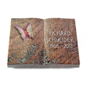 Grabbuch Livre / Paradiso mit Color-Bronze-Ornament