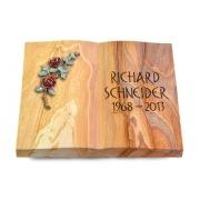 Grabbuch Livre / Rainbow mit Color-Bronze-Ornament