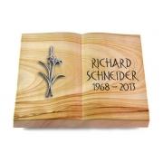 Grabbuch Livre / Woodland mit Aluminium-Ornament