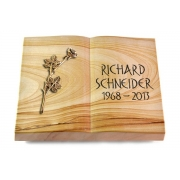 Grabbuch Livre / Woodland mit Bronze-Ornament