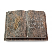 Grabbuch Livre Auris / Himalaya mit Bronze-Ornament