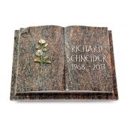 Grabbuch Livre Auris / Himalaya mit Color-Bronze-Ornament
