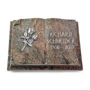 Grabbuch Livre Auris / Paradiso mit Aluminium-Ornament