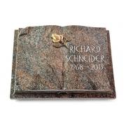 Grabbuch Livre Auris / Paradiso mit Bronze-Ornament