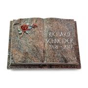 Grabbuch Livre Auris / Paradiso mit Color-Bronze-Ornament